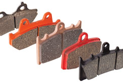 Perfect Brakes Motorcycle Brake Pads