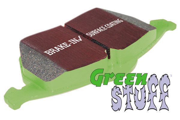 EBC Brakes™ Greenstuff™ 2000 Series Upgrade Pads