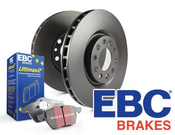 EBC Brakes EBPCK1029 Complete Semi-Sintered V-Pads Brake Pad Change Kit